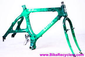 "1989 Kestrel MX-Z MTB Frame &  Fork: 19"" - First Mountain Bike Monocoque Carbon Frame! - CyclArt"