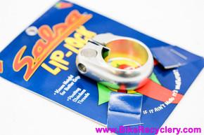Salsa Lip Lock Seatpost Collar: Silver - 28.6mm (NEW)