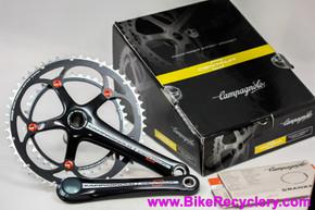 Campagnolo Centaur Carbon Power Torque Crankset: 175mm x 53/39t - Black - FC12-CERB593 (NEW)