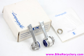 NIB/NOS Campagnolo C-Record Syncro II Downtube Shifters: 6 Speed Yellow Insert - Cables & RD Housing