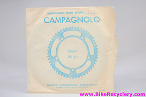 NIB/NOS Campagnolo Victory / Triomphe / Gran Sport Outer Chainring: 53t x 116mm BCD (Sealed)