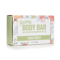 Rain Forest Goat Milk Body Bar