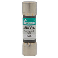 Bussmann 5AG Series BAF, 6 amp 250Vac Commercial Fuse