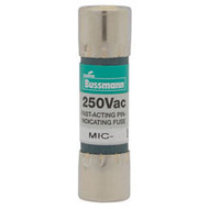 Bussmann 5AG Series MIC, 1 amp 250Vac Commercial Fuse