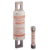 Mersen Amp-Trap Series A100, 15 amp 1000Vac Commercial Fuse
