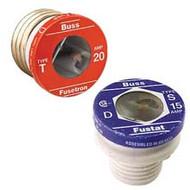 Bussmann Plug Series T, 6 1/4 amp 125Vac Commercial Fuse