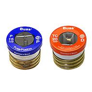 Bussmann Plug Series TC, 15 amp 125Vac Commercial Fuse