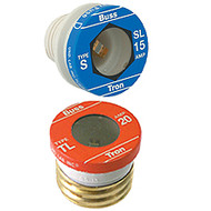 Bussmann Plug Series TL, 25 amp 125Vac Commercial Fuse