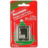 Bussmann XMAS Series MAS, 3 amp Vac Commercial Fuse