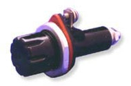 Single Pole Panel Mount Non-Blown Indicating fuse holder  for 5AG/5AB, Midget fuses by FIC