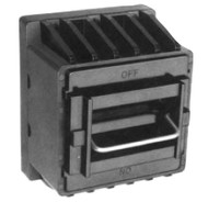 Three Pole Switch Non-Blown Fuse Indicating fuse holder  for J fuses by Bussmann