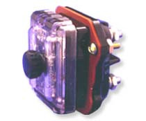 Two Pole Panel Mount Blown Fuse Indicating fuse holder  for 5AG/5AB, Midget fuses by FIC