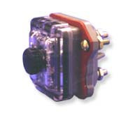 Two Pole Panel Mount Blown Fuse Indicating fuse holder  for F02, F03, FM09 fuses by FIC