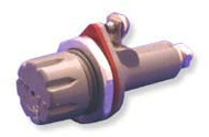 Single Pole Panel Mount Non-Blown Fuse Indicating fuse holder  for F07, F60 fuses by FIC