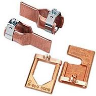 Pair of 2621-R Fuse Reducer for Class R 100A to 200A , 250V and 600V.   Does not apply to LPN-RK-70SP to LPN-RK-100SP Fuses.