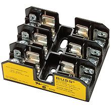 BG3031S 3 Pole Fuse Block for Class G Fuses, 1 to 15 Amp, 600V, Box Lug Terminal