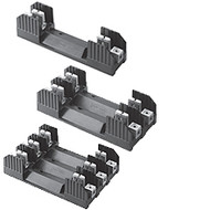 H60060-1CR 1 Pole Fuse Block for Class H & K5 Fuses, 31-60 Amp, 600V, Box Lug Terminal with Clip reinforcing springs