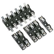"S-8301-01 1 Pole Fuse Block for 1/4: x 1 1/4"" Fuses, <=30 Amp, 300V, Screw Terminal"