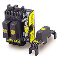 SAMI-7I 1 Pole Indicating Fuse Cover for Midget and CC Fuses, 600V
