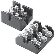 T60030-2CR 2 Pole Fuse Block for Class T Fuses, 1/2-30 Amp, 600V, Box Lug Terminal