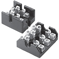 T60030-3CR 3 Pole Fuse Block for Class T Fuses, 1/2-30 Amp, 600V, Box Lug Terminal