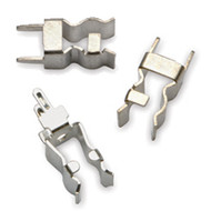 """5956-16 Fuse Clip for 13/32"""" Diameter Fuses, No End Stop, Spring Bronze with Bright Tin Finish"""