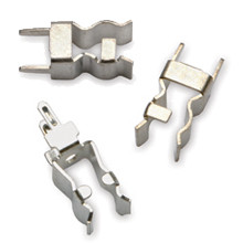 """5960-63 Fuse Clip for 13/32"""" Diameter Fuses, With End Stop, Spring Bronze with Bright Dip Finish"""