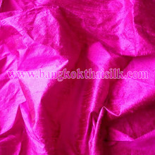 Hot Pink 100% Silk Dupioni Fabric