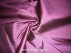 Purple Shot Black 100% Authentic Silk Fabric