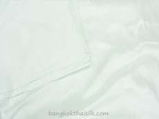 Natural White 100% Authentic Silk Fabric