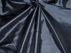 Dark Grey/Gray 100% Authentic Silk Fabric