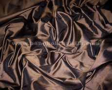 Chocolate Brown 100% Authentic Silk Fabric