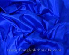 Cobalt Blue 100% Authentic Silk Fabric