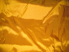 Yellow Sunset 100% Authentic Silk Fabric