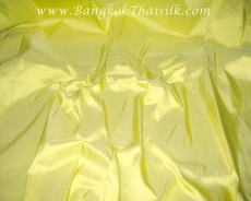 Corn Yellow 100% Authentic Silk Fabric