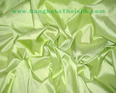 Peridot Green 100% Authentic Silk Fabric