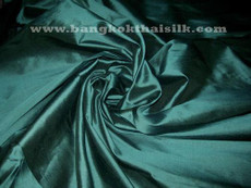 Duck Green 100% Authentic Silk Fabric