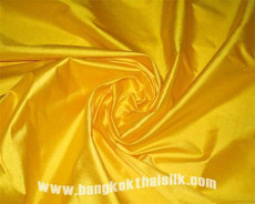 Yellow Sunrise 100% Authentic Silk Fabric