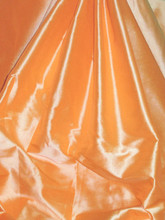 Orange 100% Authentic Silk Fabric