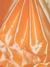 Orange 100% Authentic Silk Fabric