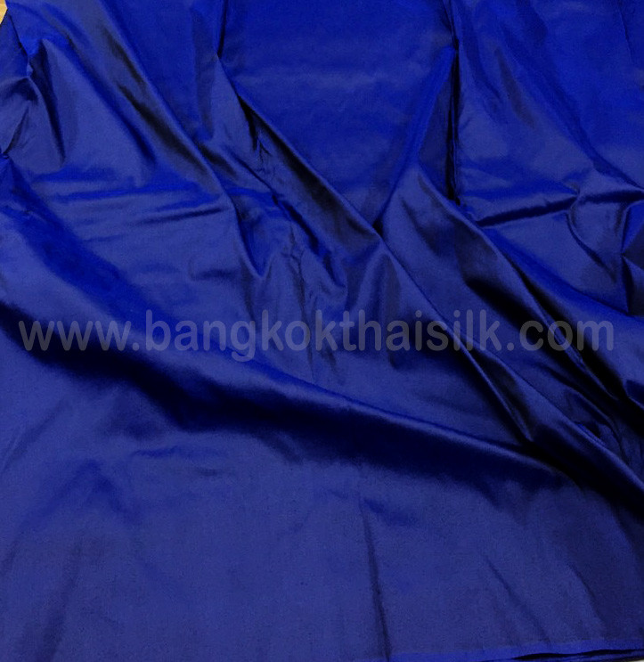 ULTRAMARINE BLUE 100/% PURE SILK FABRIC for Wedding Dress Drape Bridesmaid BTY