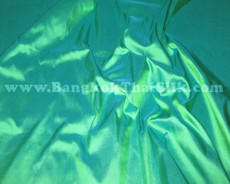Parrot Green 100% Authentic Silk Fabric