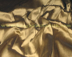 Old Gold 100% Authentic Silk Fabric