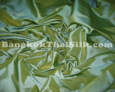 "Moss Green Shot Gold Faux Silk Taffeta 60""W Fabric"