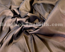 "Chestnut Brown Faux Silk Taffeta 60""W Fabric"