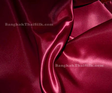 "Red Wine Satin Fabric 45""W"