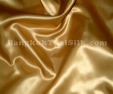 "Gold Satin Fabric 45""W"