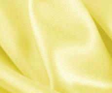 "Maize Satin Fabric 45""W"
