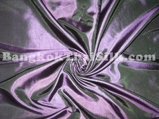 "Purple Shot Green Taffeta 60""W Fabric"