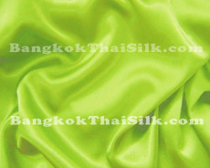 "Pistachio Satin Fabric 45""W"